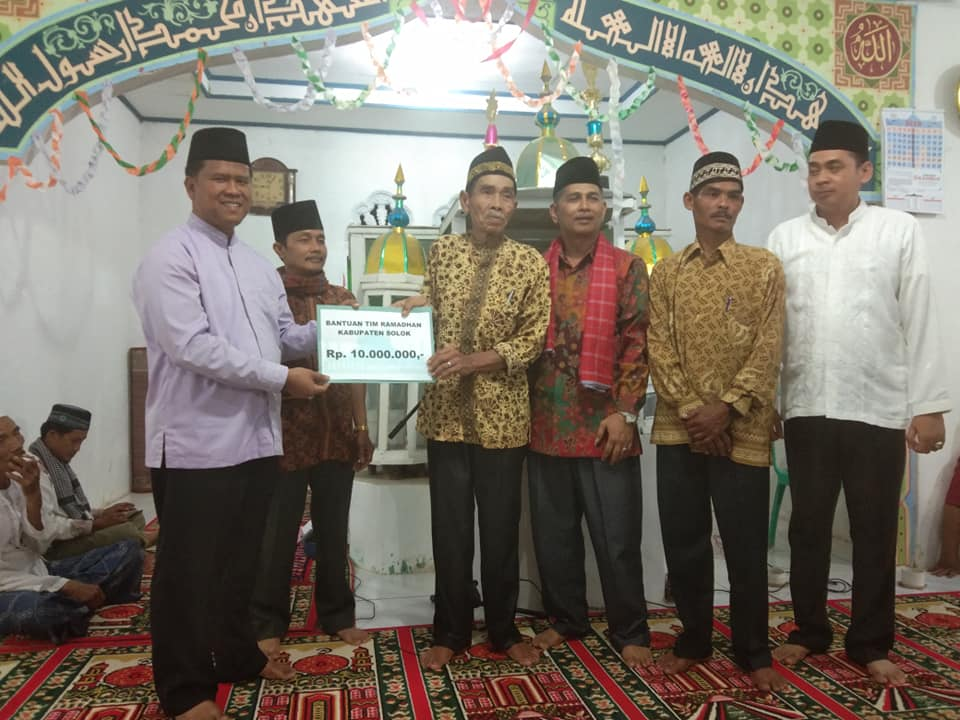 Wakil Katua PA Solok Menjadi Ketua TIM Safari Ramadhan 1440 H